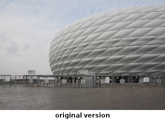 Allianzarena, München, Originalversion